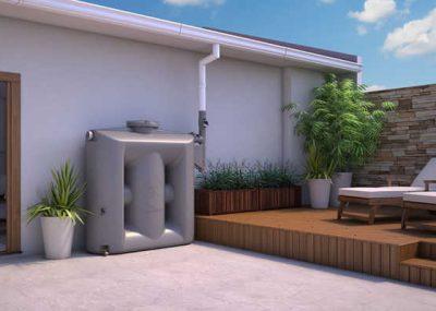 Sistemas de captação de água da chuva